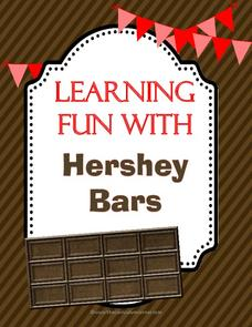 hershey bar fractions lesson plans  worksheets reviewed by teachers learning fun with hershey bars worksheet