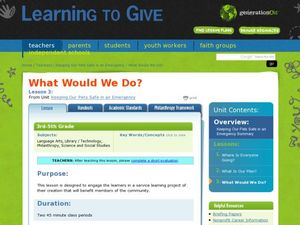What Would We Do? Lesson Plan