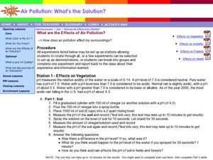 What are the Effects of Air Pollution? Lesson Plan