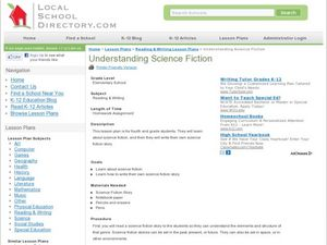 Understanding Science Fiction Lesson Plan