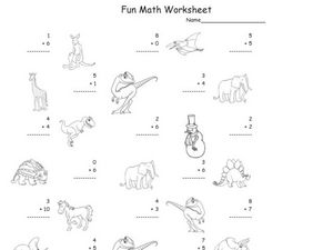 Fun Math Worksheet 2 Worksheet