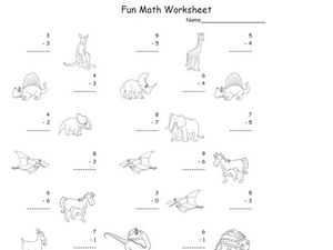 Fun Math 21 Worksheet