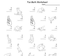 Fun Math 26 Worksheet
