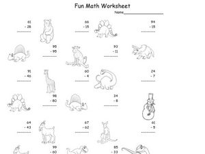 Fun Math 32 Worksheet
