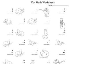 Fun Math 75 Worksheet