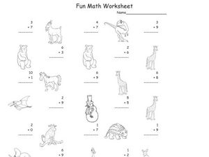 Easy Addition Worksheet 46 Worksheet