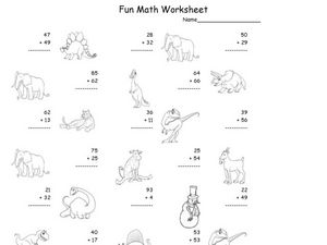 Fun Math 58 Worksheet