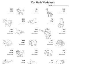 Fun Math 61 Worksheet