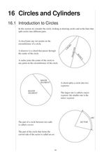 Circles and Cylinders Worksheet