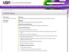 2 Ball Bop Lesson Plan