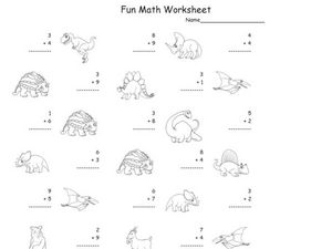 Fun Math 90 Worksheet