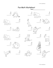 Fun Math  6 Worksheet
