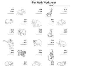 Fun Math 15 Worksheet