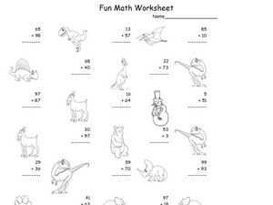 Fun Math Worksheet Addition Worksheet