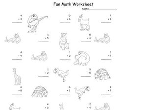 Fun Math Worksheet 21 Worksheet