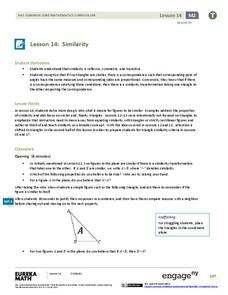 Similarity Lesson Plan