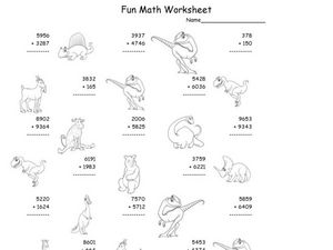 Fun Math Worksheet 17 Worksheet