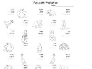 Super Hard Addition Worksheet 38 Worksheet