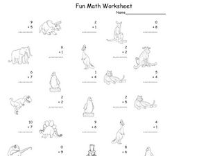 Fun Math 94 Worksheet