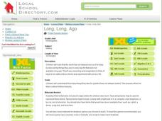 Long, Long, Ago Lesson Plan