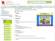 Capital Letters and Small Letters Lesson Plan