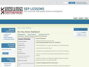 Do You Know Bamboo? Lesson Plan