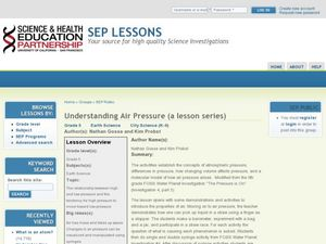 Understanding Air Pressure Lesson Plan