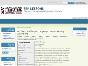 Oh Deer! and English Learner Writing Extensions Lesson Plan