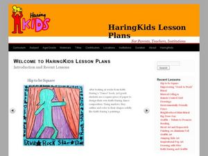Keith Haring Lesson Series Lesson Plan