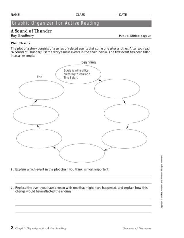 essay questions for a sound of thunder Nethergrave vs a sound of thunder essay sample pages: 3 based on how it uses new technology and modern science a sound of thunder is.