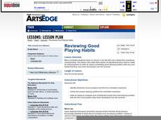 Reviewing Good Playing Habits Lesson Plan