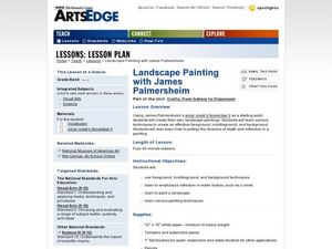 Landscape Painting with James Palmersheim Worksheet
