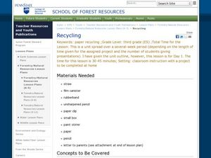 Recycling: Creative Uses for Items Lesson Plan