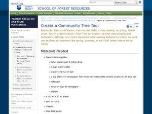 Create a Community Tree Tour Lesson Plan