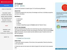 2 Cubed Lesson Plan