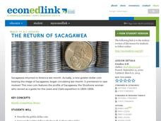 The Return of Sacajawea Lesson Plan