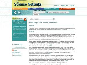 The Nature of Technology Lesson Plan