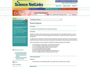 Steam Engines Lesson Plan