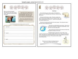 Addition Practice: Nature Walk, #8 Worksheet