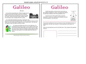 Galileo Worksheet