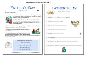 Father's Day Unit Worksheet