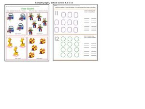 Counting Practice 3 Worksheet