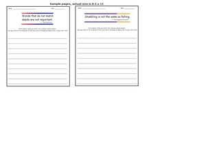 Quotation Writing Prompts 4 Worksheet