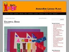 Colorful Dogs Lesson Plan