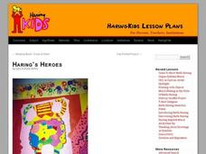 Haring's Heroes Lesson Plan
