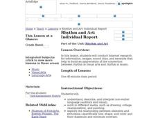 Rhythm and Art: Individual Report Worksheet