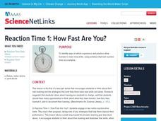 How Fast Are You? Lesson Plan