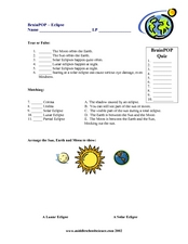 Brain POP Worksheet