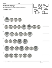 Quarters, Dimes, and Nickels Worksheet