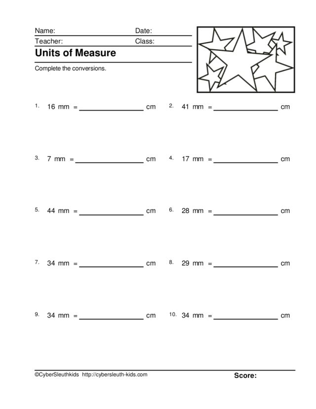 units of measure millimeters and centimeters 5 worksheet for 4th 5th grade lesson planet. Black Bedroom Furniture Sets. Home Design Ideas